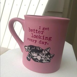 Free with purchase- Cat is good mug